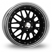 Image for Dare DR-LM Black Alloy Wheels