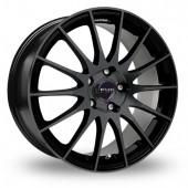 Fox Racing FX004 Black Alloy Wheels