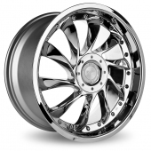Image for Ace C036_Aviator Chrome Alloy Wheels