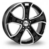 Zito Blazer Black Polished Alloy Wheels