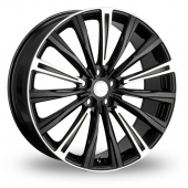 Hawke Chayton Polished Highlights Black Polished Alloy Wheels