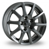 Image for Wolfrace Milano Titanium Alloy Wheels