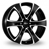 Image for Alutec Dynamite_6 Black_Polished Alloy Wheels