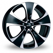 Image for Alutec Dynamite_5 Black_Polished Alloy Wheels