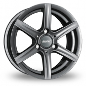 "15"" Alutec Grip 3 Graphite Alloy Wheels"