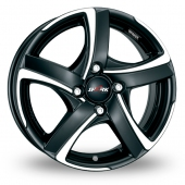Alutec Shark 4 Black Polished Alloy Wheels