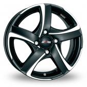 Image for Alutec Shark_4 Black_Polished Alloy Wheels