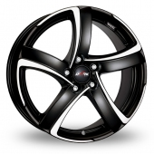 Alutec Shark 5 Black Polished Alloy Wheels