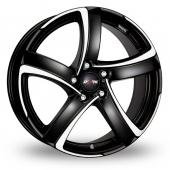 Image for Alutec Shark_5 Black_Polished Alloy Wheels