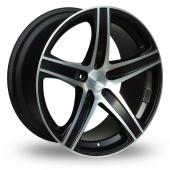 Lenso Miami Black Polished Alloy Wheels