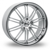 Image for Zito Belair_Wider_Rear Hyper_Silver Alloy Wheels