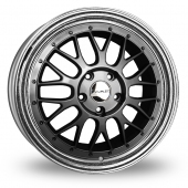 Image for Dare DR-LM_5x120_Wider_Rear Gun_Metal Alloy Wheels