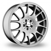 Image for Dare DR-CH_5x112_Wider_Rear Hyper_Silver Alloy Wheels