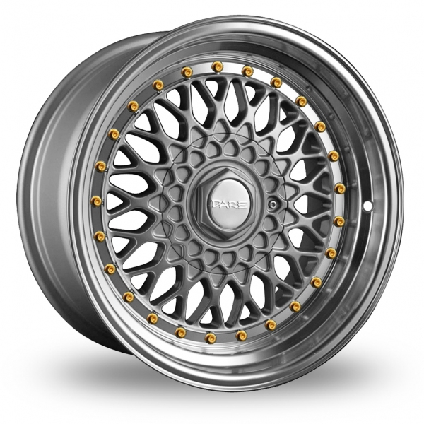 Zoom Dare DR-RS_Wider_Rear Silver_Gold_Rivets Alloys