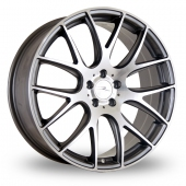 Image for Dare River_NK_1_5x112_Wider_Rear Gun_Metal_Polished Alloy Wheels