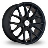 Dare River NK 1 Matt Black Alloy Wheels