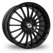 Image for Zito Spyder Black Alloy Wheels