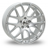 Image for Zito ZL935_5x120_Low_Wider_Rear Hyper_Silver Alloy Wheels