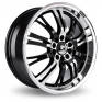 "17"" Konig Unknown Wheel Rims Package"