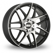 BBS CX-R Black Polished Alloy Wheels