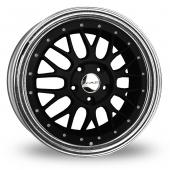 Image for Dare DR-LM_5x120_Wider_Rear Matt_Black Alloy Wheels