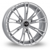 Image for OZ_Racing X2 Silver Alloy Wheels