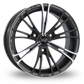 Image for OZ_Racing X2 Gun_Metal_Polished Alloy Wheels