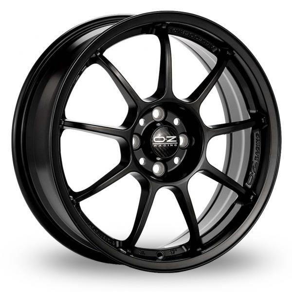 Zoom OZ_Racing Alleggerita_HLT_5x130_Wider_Rear Black Alloys
