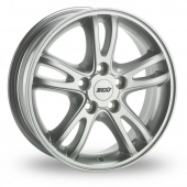ZCW Force Silver Alloy Wheels