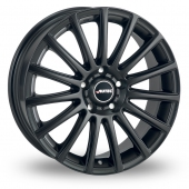 Autec Fanatic Matt Black Alloy Wheels