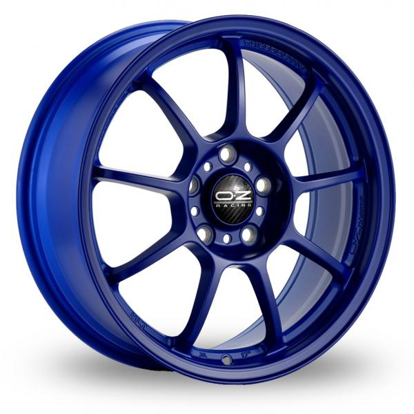 Zoom OZ_Racing Alleggerita_HLT_5x114_Wider_Rear Blue Alloys
