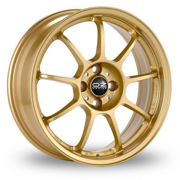 Zoom OZ_Racing Alleggerita_HLT_5x114_Wider_Rear Gold Alloys