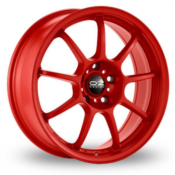 Zoom OZ_Racing Alleggerita_HLT_5x114_Wider_Rear Red Alloys