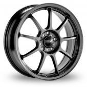 Image for OZ_Racing Alleggerita_HLT_5x120_Wider_Rear Titanium Alloy Wheels