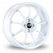 Image for OZ_Racing Alleggerita_HLT_5x120_Wider_Rear White Alloy Wheels