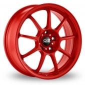 Image for OZ_Racing Alleggerita_HLT_5x112_Wider_Rear Red Alloy Wheels