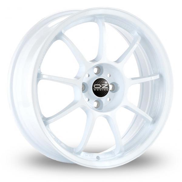 Zoom OZ_Racing Alleggerita_HLT_5x112_Wider_Rear White Alloys