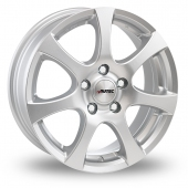 Autec Zenit Silver Alloy Wheels