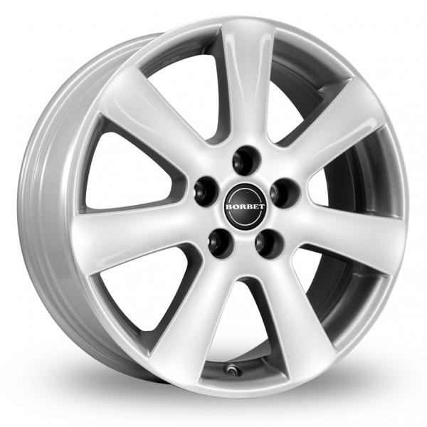 Zoom Borbet CA Silver Alloys
