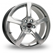 Image for Fox_Racing FX6 Hyper_Silver Alloy Wheels