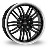 Image for Alutec Black_Sun Black_Polished Alloy Wheels