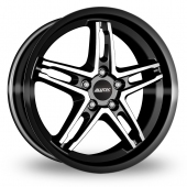 Image for Alutec Poison_Cup_5x114_Wider_Rear Black_Polished Alloy Wheels