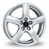 Image for Wolfrace Oslo Silver Alloy Wheels