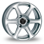 Image for Wolfrace Le_Mans_Wider_Rear Silver Alloy Wheels