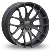 Breyton Race GTS 5x120 Wider Rear Gun Metal Alloy Wheels