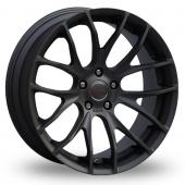 Breyton Race GTS 5x120 Wider Rear Matt Black Alloy Wheels