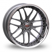 Breyton Race GTR Gun Metal Alloy Wheels