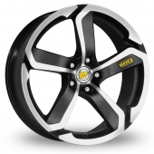 Image for Dotz Hanzo_5x114_Wider_Rear Black_Polished Alloy Wheels