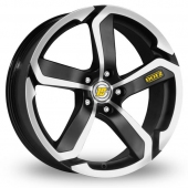 Image for Dotz Hanzo_5x112_Wider_Rear Black_Polished Alloy Wheels
