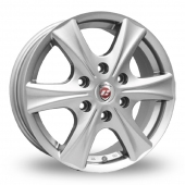 Image for Calibre Trek_6 Silver Alloy Wheels